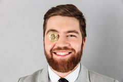 Close up of a smiling businessman Stock Photo