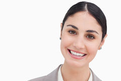 Close up of smiling businesswoman Stock Photos