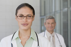Close up of smiling doctor Stock Photos