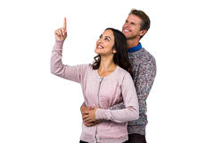 Close-up of smiling man and woman Royalty Free Stock Photography