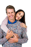 Close-up of smiling man and woman Stock Images