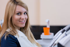 Close-up of smiling woman Stock Photography