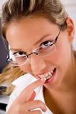 Close up of smiling young professional Stock Photos