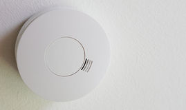 Close up of smoke detector Stock Image