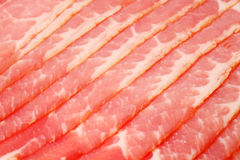 Close up of smoked red appetizing meat Royalty Free Stock Image