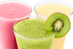 Close Up Smoothies Royalty Free Stock Photography