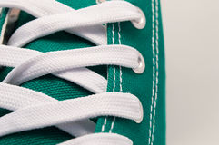 Close up of sneakers Stock Images