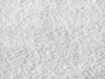 Close up of snow. Close up of white snow showing texture Stock Image