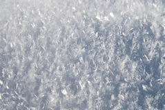 Close up of snow Royalty Free Stock Images