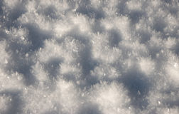 Close-up of snow Royalty Free Stock Photography