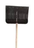 Close up of snow shovel. Royalty Free Stock Image