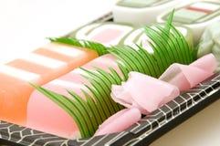 Close up of Soap Sushi Royalty Free Stock Image