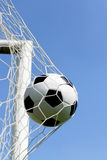 Close-up of a soccer ball Stock Image