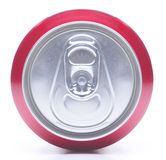 Close Up of Soda Can Top Royalty Free Stock Photos