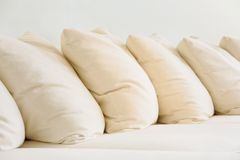 Close up of Soft cushion Royalty Free Stock Image