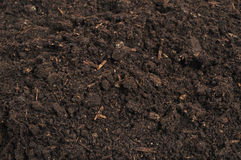 Close-up of soil Royalty Free Stock Photography