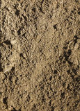 Close up of soil. Royalty Free Stock Images