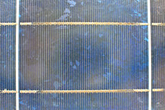 Close up solar cell Royalty Free Stock Images