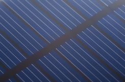 Close up solar cell battery Royalty Free Stock Photography