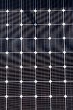 Close up of Solar Cell - photovoltaic modules for renewable energy. Royalty Free Stock Photos