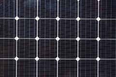 Close up of Solar Cell - photovoltaic modules for renewable energy. Stock Photo