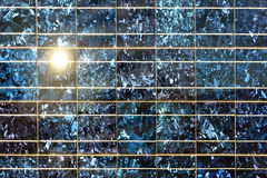 Close up of solar cell Stock Photography