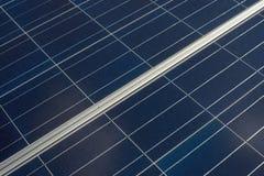 Close up solar da placa Foto de Stock