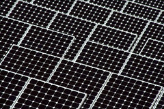 Close Up of Solar Energy Stock Photography