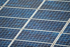 Close Up Solar Panel Stock Images