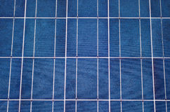 Close-up of solar panel Stock Images