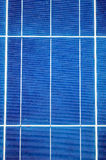 Close-up with solar panel cells Royalty Free Stock Image