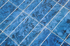 Close up of solar panel Royalty Free Stock Photos