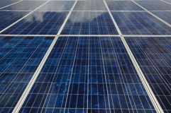 Close up of Solar Panel Royalty Free Stock Photography