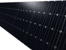 Close up of solar panels Royalty Free Stock Photos