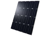 Close up of solar panels Stock Image