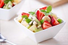 Bowl Of Refreshing Fruit Salad Royalty Free Stock Photos