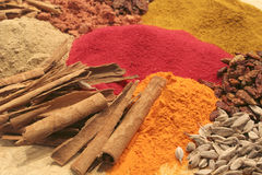 A close up of some spices II Stock Images