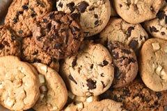 Close up sortido da cookie Fotos de Stock Royalty Free