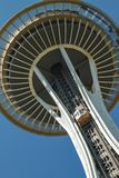 Close up of Space Needle in Seattle Stock Photos