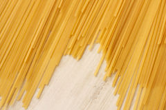 Close up of the Spaghetti Royalty Free Stock Photos