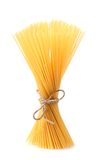 Close up of Spaghetti isolated Royalty Free Stock Photo