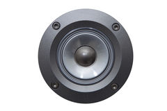 Close up of a speaker Stock Image