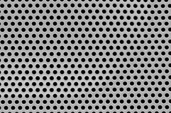 Close-up of the speaker surface. Texture of the detail of a speaker Royalty Free Stock Image