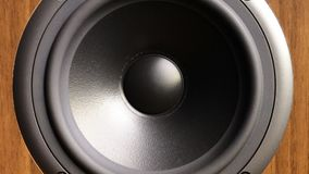 Close up of speaker in work stock video footage