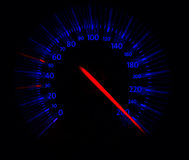 Close up of speedometer Stock Photography