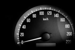 Close up of speedometer Stock Image