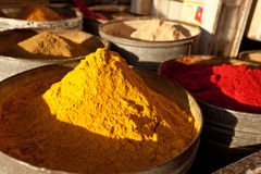 Close-up of spices in a Marrakesh souk Stock Photo