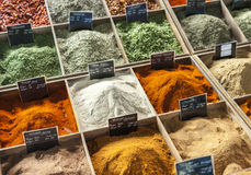 Close up of spices Royalty Free Stock Photos