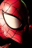 Close up Spiderman. LAS VEGAS, USA - Oct 29, 2016: Close up Spiderman, Madame Tussauds museum in Las Vegas royalty free stock photo