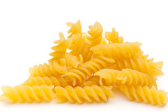 Close up of spiral pasta Stock Photos